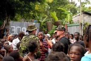 foule, les gens, les habitants, l'Afrique