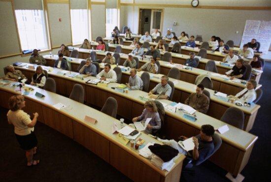 classroom, people, teacher