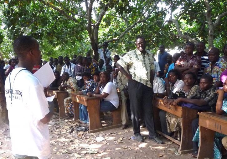 ghana, election, observers, receive, briefing, support