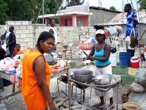 하이티, 생활, 캠프