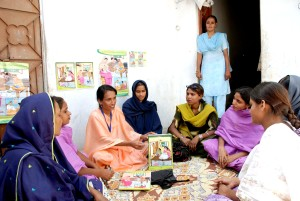health, worker, sindh, illustrated, calendar, explain, best, practices, maternal, child, health
