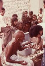locales, Pakistán, el hombre, la sangre, la prueba de 1977, malatión, veneno, estudio
