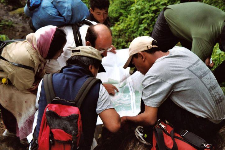 Nepal, lokala, grupper, hitta, sätt