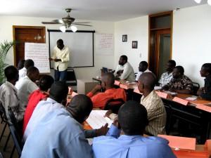 deltaker, presentasjon, portefølje, ledelse, klasse, opplæring, sentrum