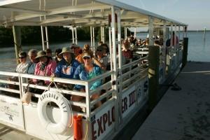passagers, tourisme, bateau
