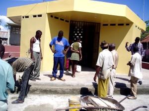 repairs, Haitian, water, kiosk, reward, civic, action