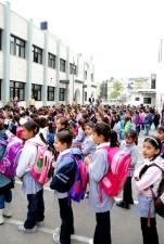 iskolás lányok