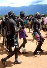 Sudanin asukkaiden, Kapoeta, Equatoria, perinteinen, rauhaa, tanssi