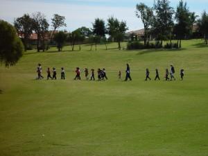 trek, oval, primary school