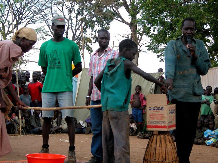 село, люди, голосувати, участі, вибори, процес