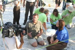 film, crew, shooting, documentary, report, beach