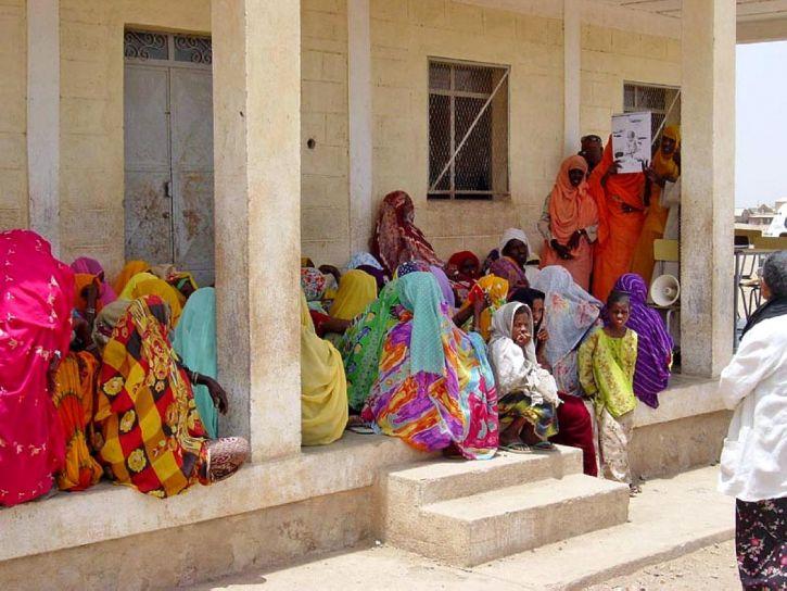 Frauen, Kinder, Eritrea, Afrika