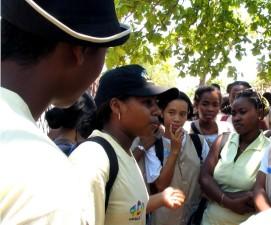 mladih, peer, edukatora, Madagaskar, rad, privatno, klinike, širenje, svijesti, obiteljski, planiranje