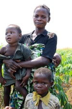 République démocratique du Congo, les femmes, les enfants, les travaux sur le terrain