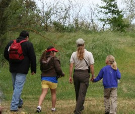 docent, led, birding, hike
