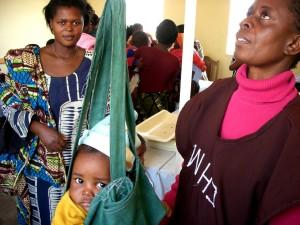 дете, здраве, седмица, Замбия, общност, здраве, доброволец, тежи, момче