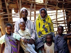 famille, le Kenya, les enfants, la mère, le père