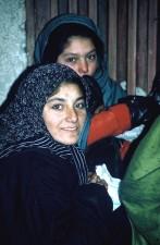 Afganistán, mujeres, retrato, grupo, gente