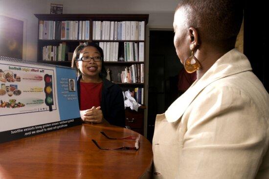 Người Mỹ gốc Phi, người lao động, văn phòng