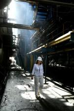 engineer, site, visit, Baghdad, power, plant