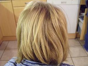 blonde, hår