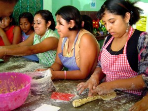 busy, mother, Guatemala, teaches, youth, cooking, skills, help, survive