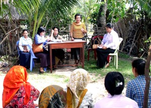 Kambodža, ženy, místo, vláda