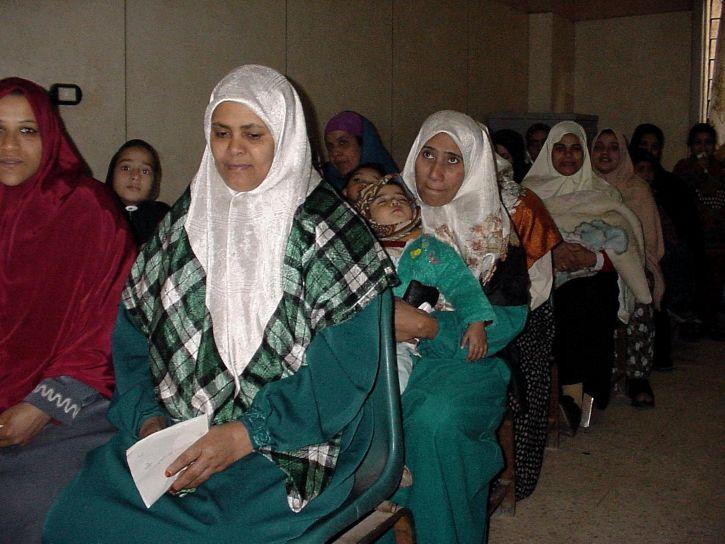egypte, soins de santé, une clinique, les femmes, les enfants