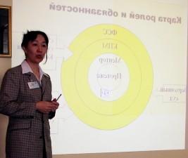 femal, juge, Kazakhstan, l'enthousiasme, l'expérience, udiciaires, mentorats