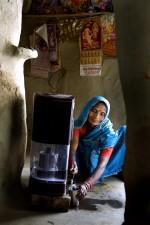 female, India, house