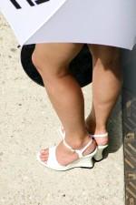 weiblich, Beine