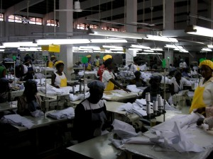 ghana, female, workers, factory