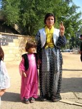 irak, femme, spectacles, voté