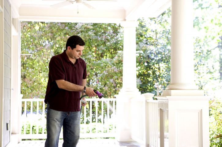 porch, dust, free, reduces, amount, contaminants, tracked, house