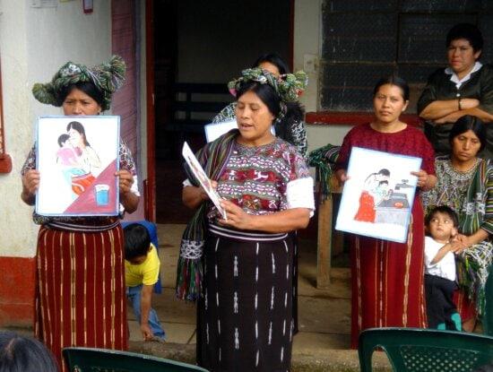 Mayan, mothers, village, Acul, central, mountain, town, Nebaj