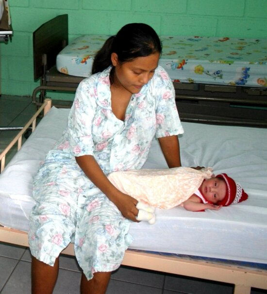 mother, child, clinic