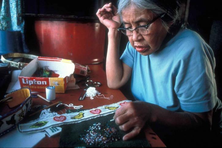indigène, américain, les femmes