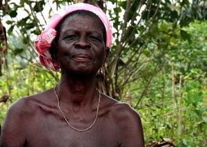 las mujeres mayores, África, retrato, de cerca, la cara
