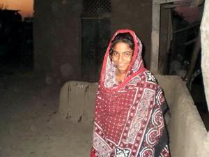 foto, vrouw, tiener, Pakistan