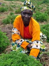 Портрет, женщина, Руанда, Африка