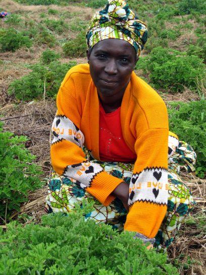 Πορτραίτο, γυναίκα, Ρουάντα, Αφρική