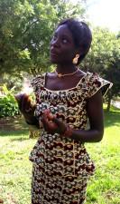 portrait, young, women, Senegal