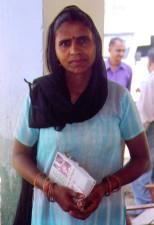 stanovnik, Mubarakpur, selo, izvan, Delhi, iskoristio, program
