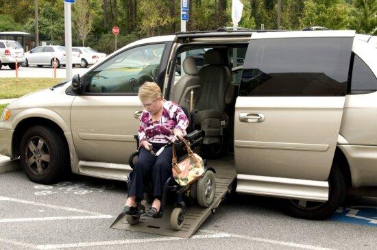 special, car, wheelchair