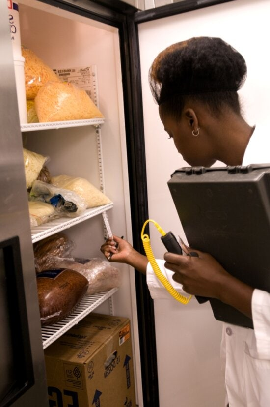 refrigerator, hygiene, inspection