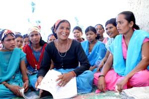 sela, žene, Nepalganj, učenje, čitanje, obučeni, zaraditi