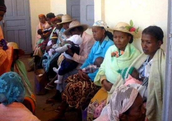 mujeres, comunidad, Ambalamahasoa, Madagascar, miembros