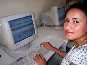 accès internet, programme, les femmes, les compétences d'apprentissage, l'emploi