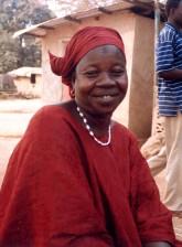 femme, communauté, activiste, Sierra Leone, poses, photo