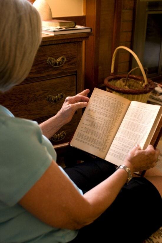 woman, reading, novel, comfort, home